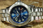 Breitling Colt SuperOcean philadelphia cherry hill NJ buy used a17040 blue