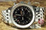 Breitling Navitimer World GMT A24322 box papers philadelphia discount used