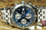 Breitling  Chronomat A13352 blue dial cherry hill buy used