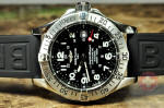 Breitling SuperOcean A17360 wth rubber strap