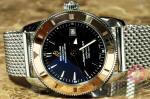 Breitling Superocean Heritage 42 U17321 Rose gold and steel box papers used