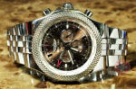 Breitling for Bentley GMT Bronze Dial model A47362 on Steel Bracelet Used watch philadelphia