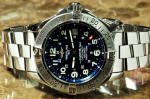 Breitling SuperOcean A17360 with blue dial used watch philadelphia