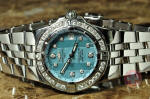 Breitling Starliner with Breitling Diamond Bezel A71340 used watch philadelphia