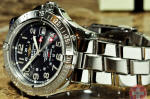 Breitling Colt GMT 500m Black Dial used watch philadelphia