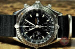 Breitling Chronomat A13048 with black nato strap