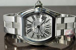 Cartier Roadster GMT XL Extra Large ref. w62032x6 philadelphia buy used