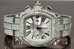 Cartier Roadster chronograph with diamonds philadelphia discount