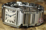 Cartier Tank Francaise with Diamonds W51008Q3 box booklets buy used