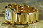 Cartier Tank Francaise 18k Gold Automatic W50001R2 philadelphia ardmore new jersey