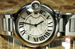 Cartier Balloon Bleu Mens Large 42mm W69012Z4 used philadelphia discount