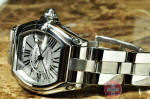 Cartier Roadster GMT XL 2722  W62032X6 box papers used philadelphia