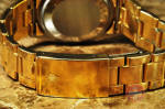 Rolex Gold Shell Date with Bracelet vintage 15505 papers