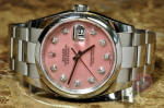 Rolex Aftermarket Accessories Pink mother of pearl with diamonds philadelphia