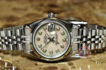 Rolex Lady Datejust 79190 Mother of pearl diamond dial philadelphia ardmore nj