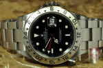 Rolex Explorer 2 with GMT - Black Dial 16570 T box papers philadelphia buy used