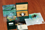 Rolex Explorer 2 with GMT  White Dial 16570 BOX PAPERS SEL PHILADELPHIA