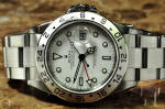 Rolex Explorer 2 with GMT - White Dial used rolex for sale philadelphia