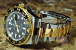 Rolex GMT Master with Ceramic Bezel 18k Gold Steel box papers philadelphia NJ