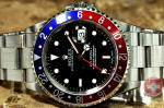 Rolex GMT Master 2 Pepsi Red Blue 16710 New Jersey Philadelphia discount