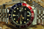 Rolex GMT Master pepsi red blue  movement 1675