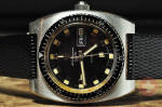 Jules Jurgensen Sea Diver Vintage with Original Box and Papers