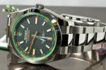 Rolex MilGauss with Green Crystal 116400 GV philadelphia buy used