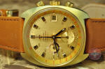 Omega Seamaster Mark 3 vintage chrongraph gold shell philadelphia buy used
