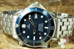 Omega Seamaster Divers 300M blue wave james bond 007 philadelphia buy used