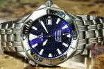 Omega Seamaster Titanium 007 James Bond 2231.80.00 Blue wave