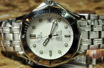 Omega Seamaster Divers 300M Automatic white dial 41mm full size