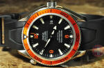 Omega Seamaster Planet Ocean 600m orange bezel 2909.50.91  philadelphia used