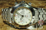 Omega Seamaster Chronograph White Wave  2598.20.00 used watch philadelphia