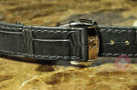 Omega Leather Alligator strap with Deployant Buckle 18mm / 16mm