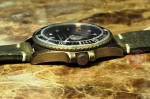 OUT OF ORDER Diver / Submariner Quartz 44mm Green USA authorized dealer