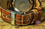OUT OF ORDER Quartz / Brown Croco Leather / 40mm USA Dealer