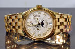 Patek Philippe Annual Calendar Moonphase 5036 yellow gold philadelphia buy used
