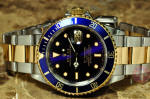 Rolex Submariner 18k gold / Steel Blue 16613 philadelphia new york new jersey buy used