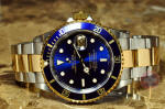 Rolex 18k gold / Steel Submariner 16613 T box papers Philadelphia Discount sale buy used