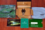 Rolex Submariner 18k gold / Steel black 16613 philadelphia buy sell