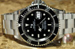 Rolex Submariner with date 16610 box papers philadelphia buy used