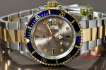 rolex 16613 steel gold with OEM serti diamond dial philadelphia