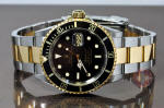 Rolex submariner 16613 black gold buckle philadelphia buy used