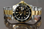 Rolex Submariner 18k Gold and steel black box papers Philadelphia buy used