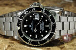 Rolex Submariner with date16610 box papers new jersey