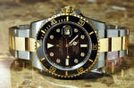 Rolex Submariner with Ceramic Bezel and Black Serti Dial 116613N philadelphia buy used