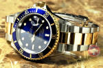 Rolex Submariner 16613 Blue with gold buckle preowned new jersey philadelphia buy used