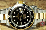 Rolex Submariner 18k gold / Steel  16613 philadelphia buy used