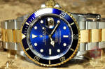 Rolex submariner blue 16613 T  gold buckle philadelphia buy used