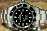 Rolex No Date Submariner Ceramic 114060 used watch philadelphia ardmore